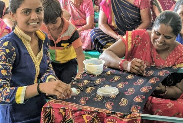 Saving traditional handicraft by empowering women