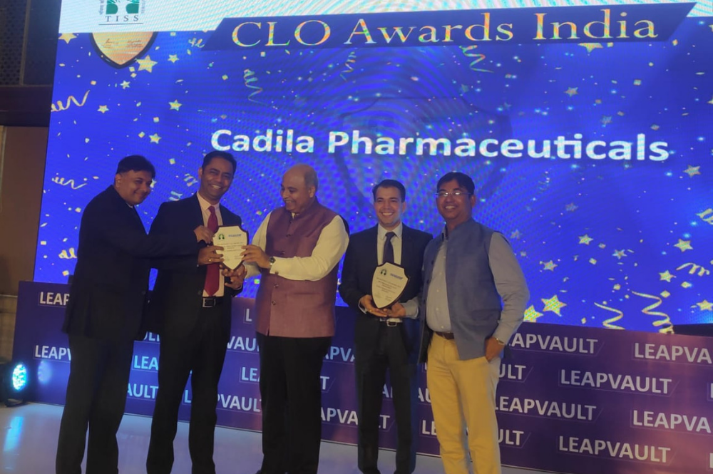 Cadila Pharma bags TISS LeapVault CLO awards in two categories