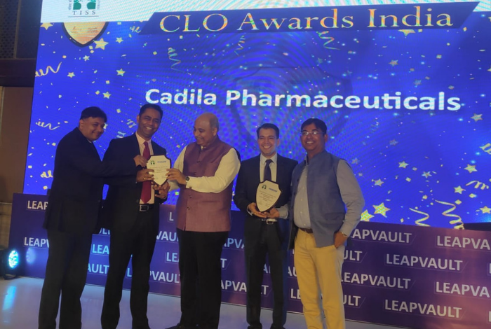 Cadila Pharma bags two TISS LeapVault CLO awards