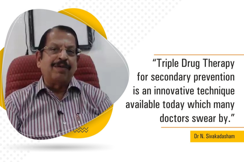 Triple Drug Therapy in Secondary Prevention- Dr Sivakadaksham