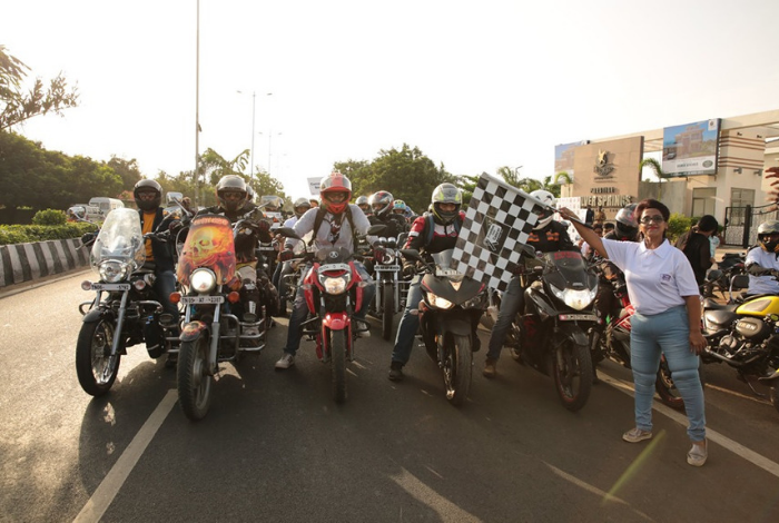 Bike rally to spread awareness and express support towards cancer survivors