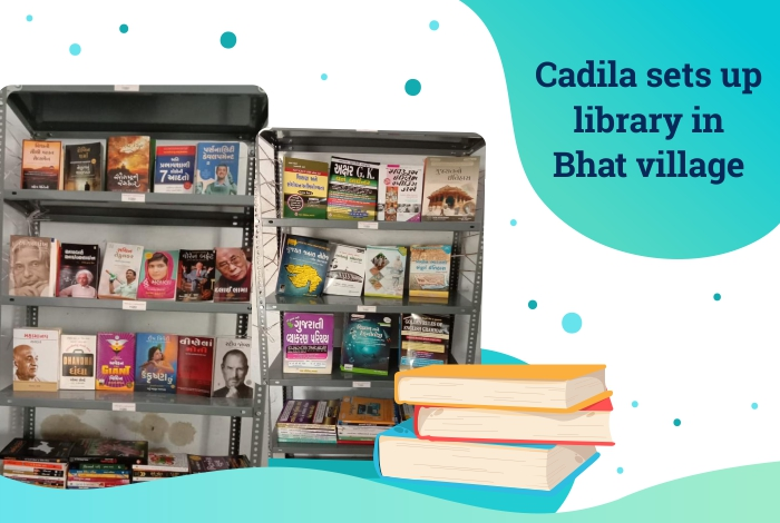 Cadila sets up library in Bhat village
