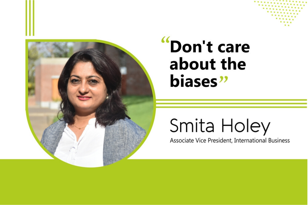 Don't care about the biases: Smita Holey