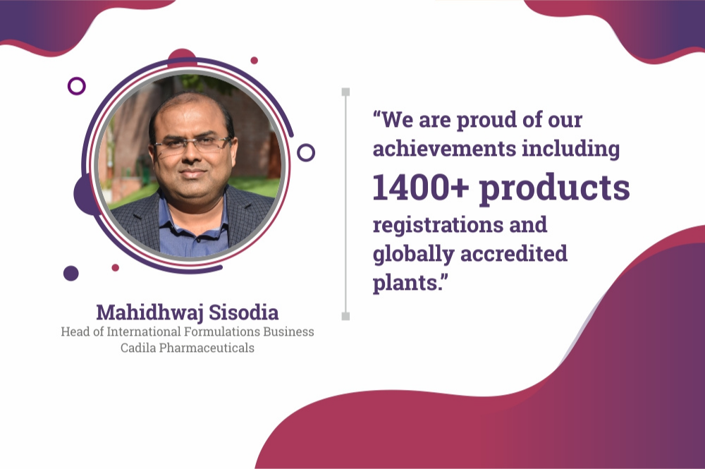 Cadila's vision is to make affordable and quality medicines for common man