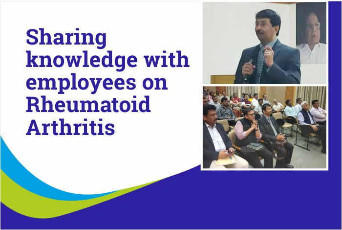 Sharing knowledge and insights with employees on Rheumatoid Arthritis