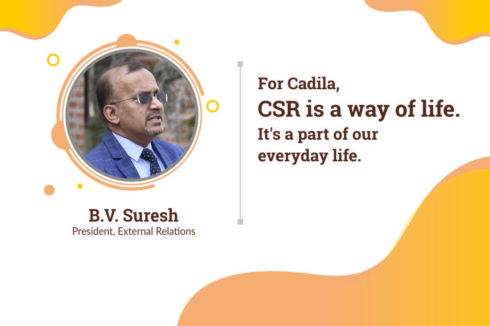 For Cadila, CSR is a Way of Life