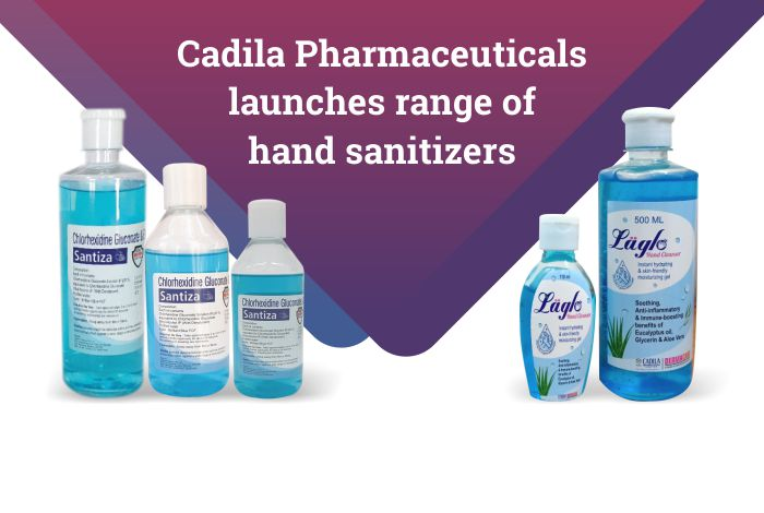 Cadila Pharma launches a range of hand sanitizers