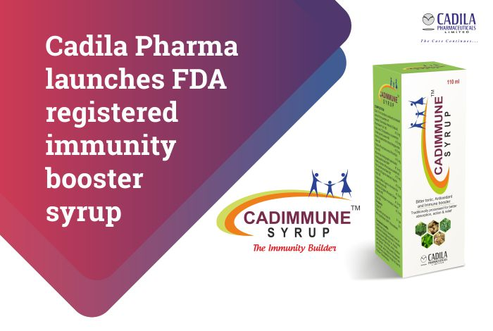 Cadila Pharma announces the launch of FDA registered immunity booster syrup