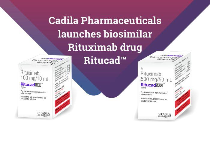 Cadila Pharmaceuticals launches biosimilar Rituximab drug Ritucad™