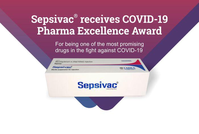 Sepsivac® receives COVID-19 Pharma Excellence Award