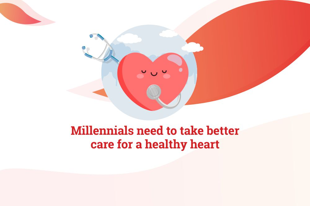Don't let sedentary lifestyle be the new normal, millennials need to take better care for a healthy heart
