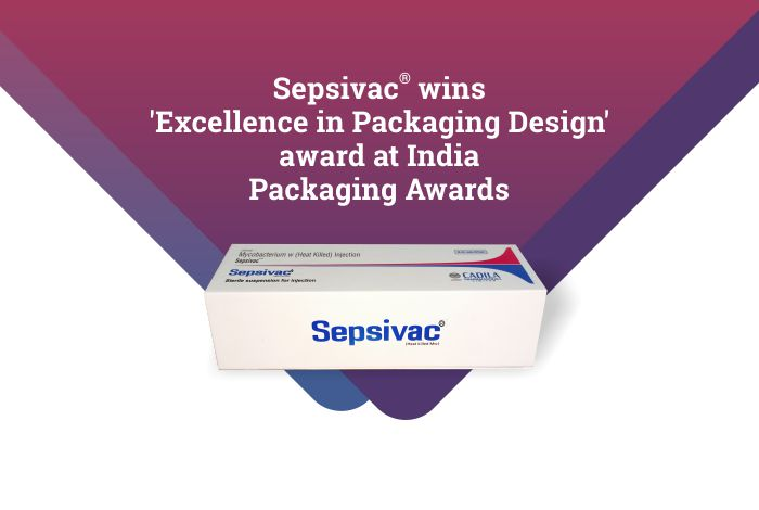 Sepsivac® wins 'Excellence in Packaging Design' award at India Packaging Awards
