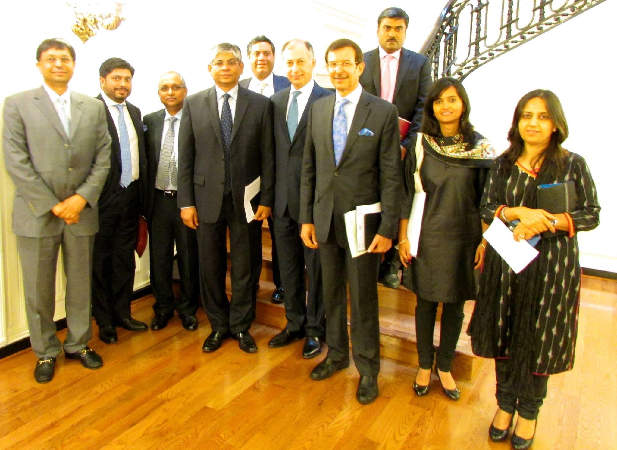 Rajiv Modi, Cadila Pharmaceuticals, CII CEOs delegation
