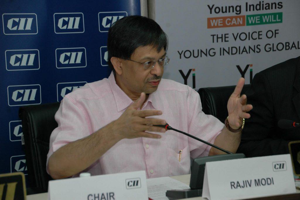 Rajiv Modi, CMD, Cadila Pharmaceuticals, CII Gujrat, Young Indians Ahmedabad Annual Business Session