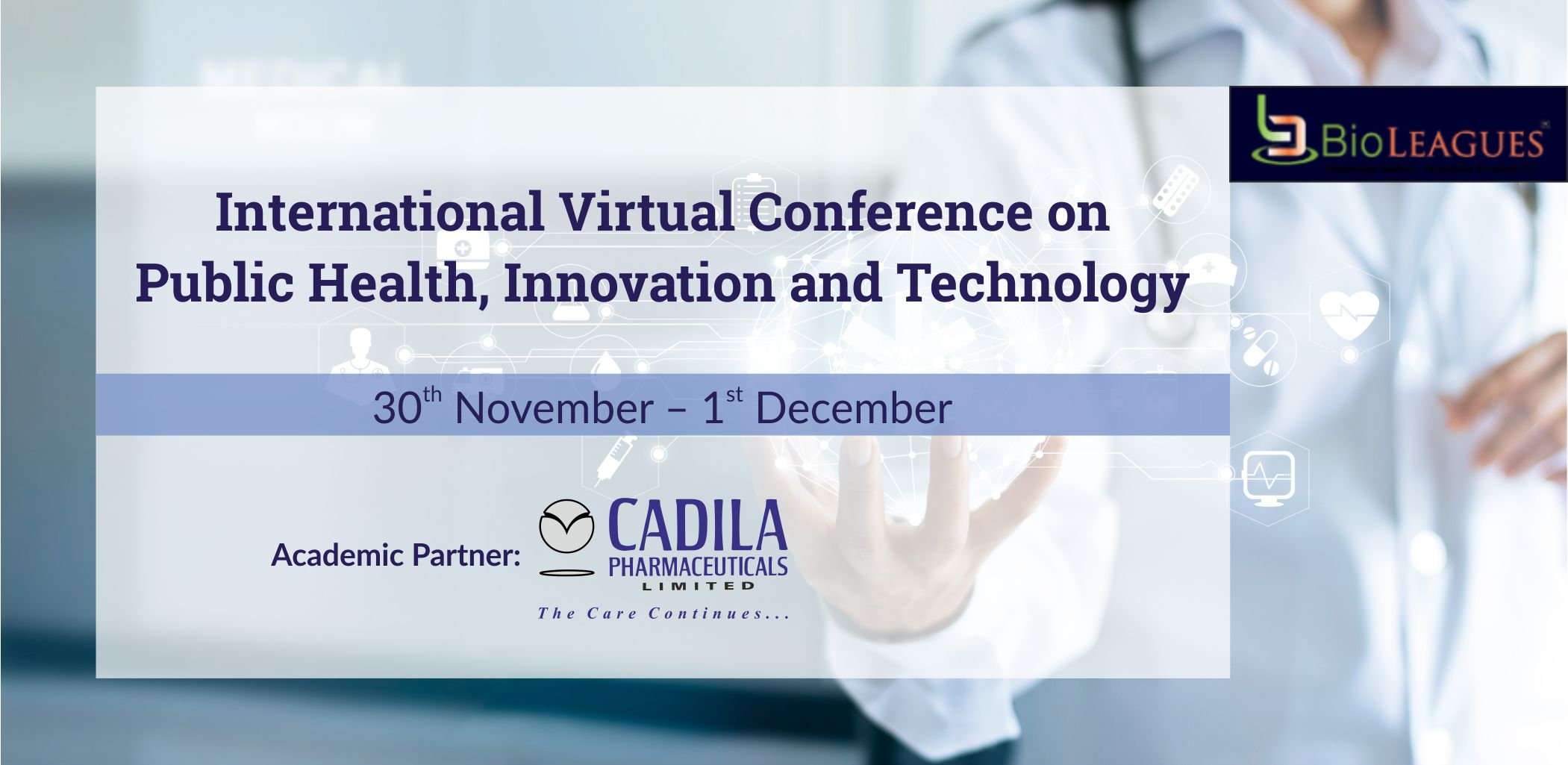 International Virtual Conference on Public Health, Innovation and Technology - 2020