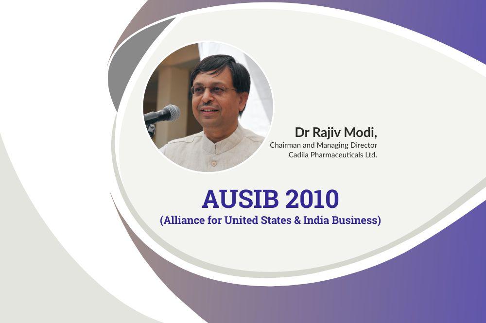 Dr Rajiv Modi, CMD, Cadila Pharmaceuticals at AUSIB 2010