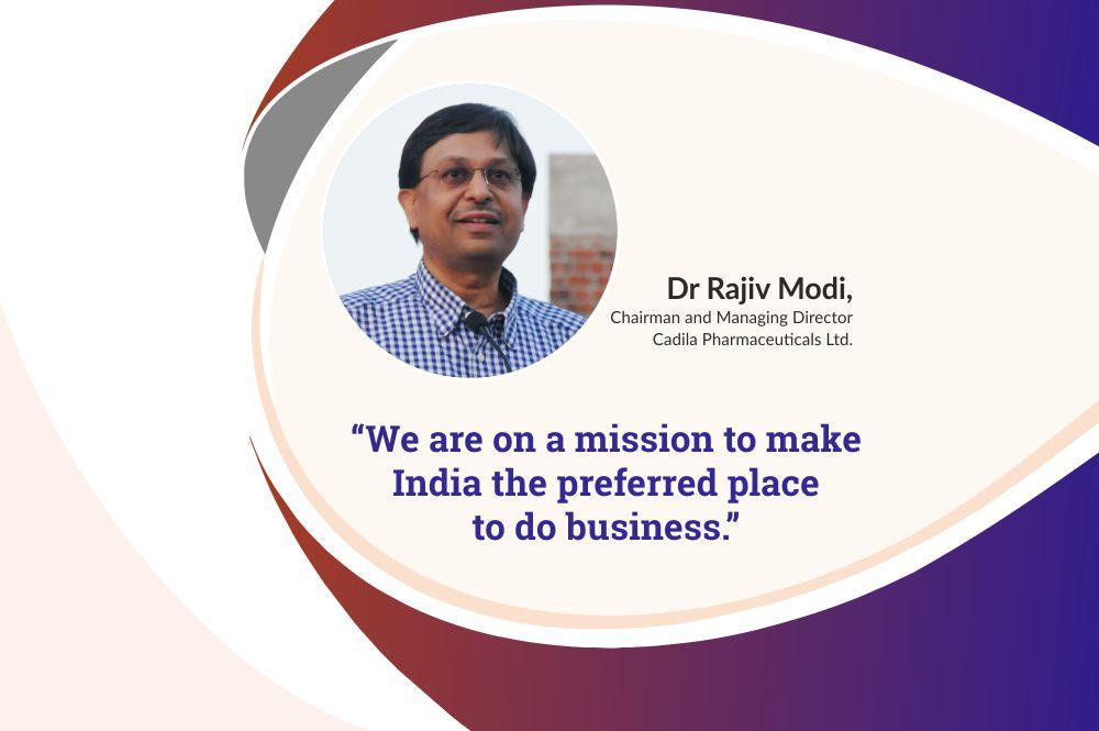 Rise of the Indian Economy – Dr Rajiv Modi, CMD, Cadila Pharmaceuticals Ltd. on Indian-Sweden relationship