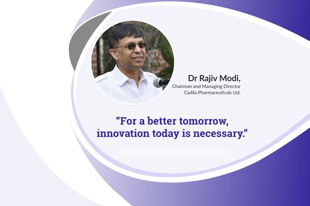 Importance of education for industry – Dr Rajiv Modi, CMD, Cadila Pharmaceuticals