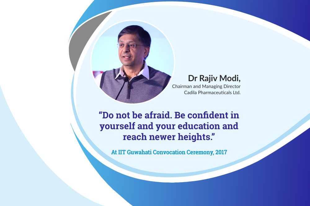 Dr Rajiv Modi's address at the IIT Guwahati Convocation Ceremony, 2017