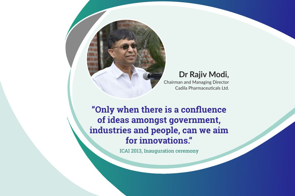 Inaugural Speech by Dr Rajiv Modi, CMD, Cadila Pharmaceuticals at ICAI 2013