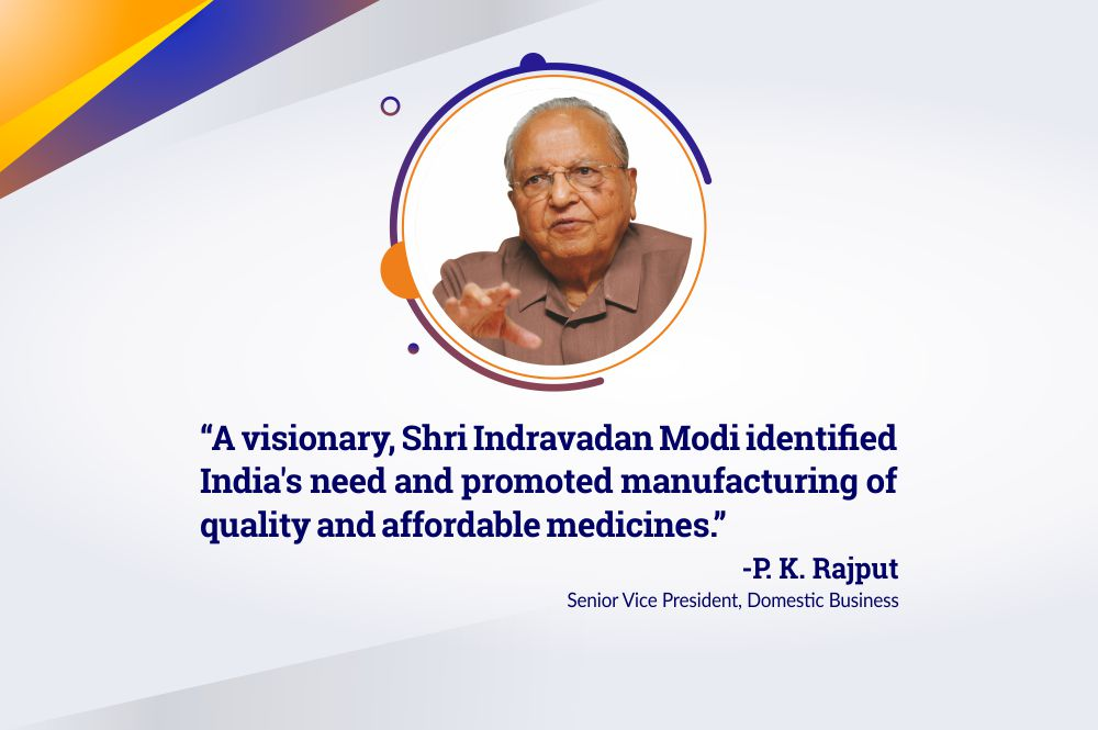 Shri Indravadan Ambalal Modi – A True Entrepreneur