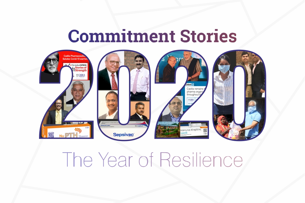 Commitment Stories 2020 : The Year of Resilience