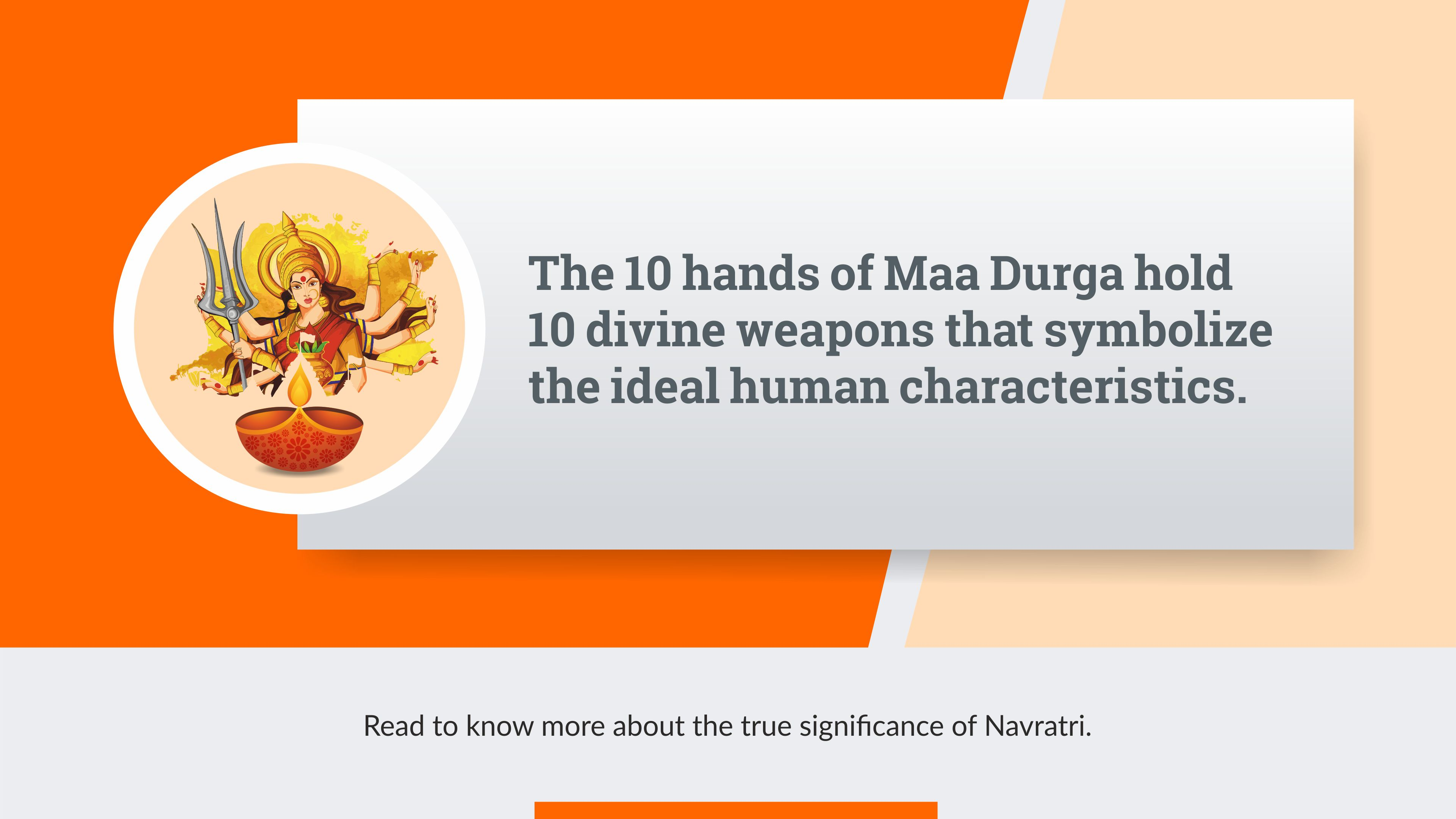 Navratri – A Celebration with Lessons for Life